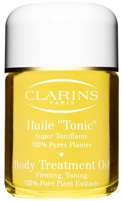 clarins corpo huile tonic na perfumes companhia. Black Bedroom Furniture Sets. Home Design Ideas
