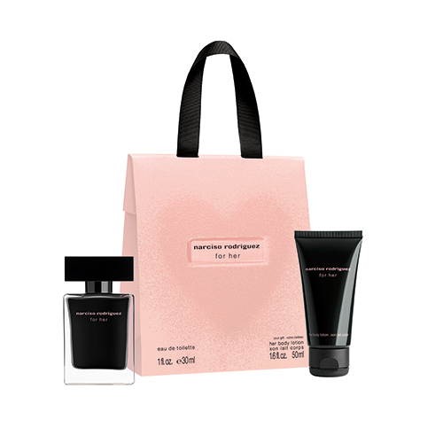 For Her Narciso Rodriguez For Her Valentine?s Day Set - EDT 30ml + Body Lotion 50ml 30 ml