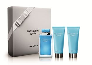 Light Blue X39Mas Intense Trio Set  EDP 100ml  Shower Gel 100ml  Body Cream 100ml Light Blue DolceGabbana