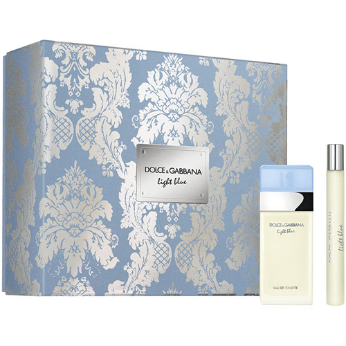 Light Blue Dolce&Gabbana Light Blue X'Mas Set - EDT 25ml + Travel Spray 10ml 25 ml