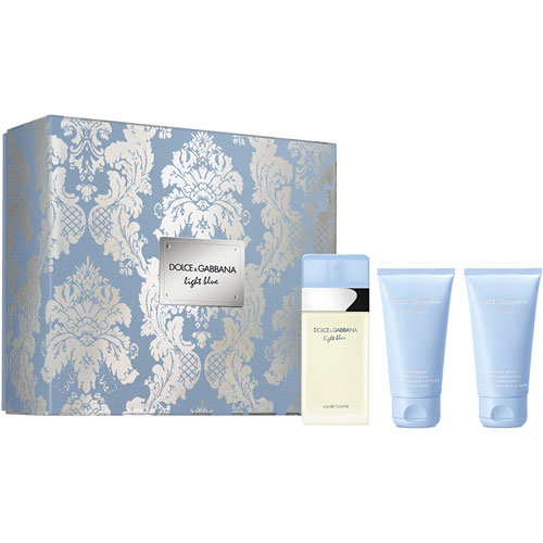 Light Blue Dolce&Gabbana Light Blue X'Mas Set - EDT 50ml + Body Cream 50ml + Shower Gel 50ml 50 ml