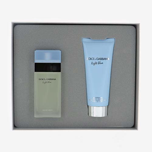 Light Blue X039Mas Duo Set  EDT 50ml  Body Cream 100ml Light Blue