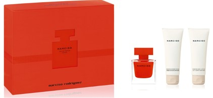 Narciso Rouge Mother039s Day Set  EDP 50ml  Shower Gel 75ml  Body Lotion 75ml Narciso