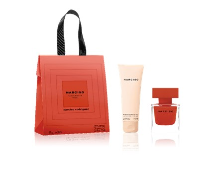Valentine039s Shopping Bag  EDP Rouge 30ml  Body Lotion 75ml Narciso