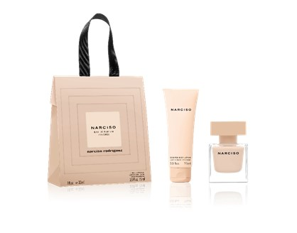 Valentine039s Shopping Bag  EDP Poudree 30ml  Body Lotion 75ml Narciso