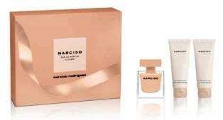 Narciso Poudree X039Mas  Set EDP 50ml  Body Lotion 75ml  Shower Gel 75ml Narciso