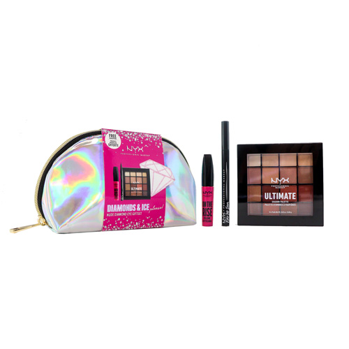 Diamonds & Ice NYX Professional Makeup NUDE DIAMOND COFFRET DE OLHOS Coffrets
