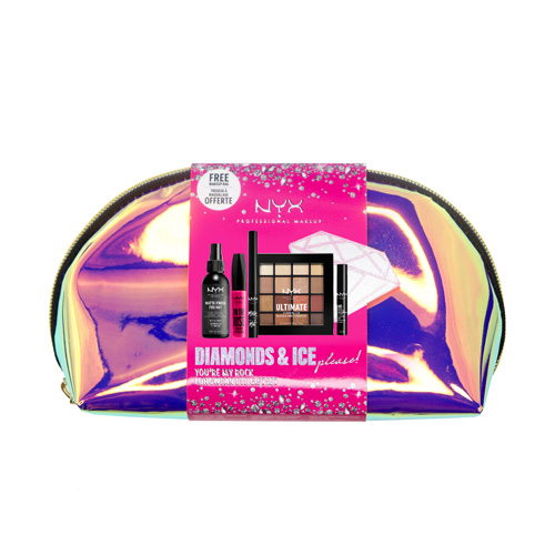 Diamonds & Ice NYX Professional Makeup YOU'RE MY ROCK COFFRET DE OLHOS DE LONGA DURAÇÃO Coffret