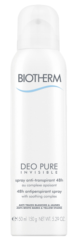 Deo Pure Spray Deo Pure Invisible Biotherm