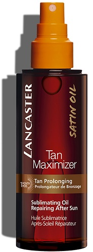 Tan Maximizer Sublimating oil After Sun  Tan Maximizer