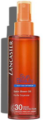 Sun Beauty Lancaster Satin Sheen Oil Fast Tan Optimizer SPF30 150 ml