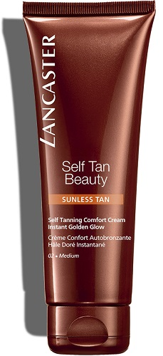 Self Tan Beauty Lancaster Creme Auto bronzeador Confortável 125 ml