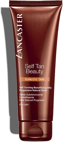 Self Tan Beauty Lancaster Gel Auto-Bronzeador Rosto/Corpo Light 125 ml