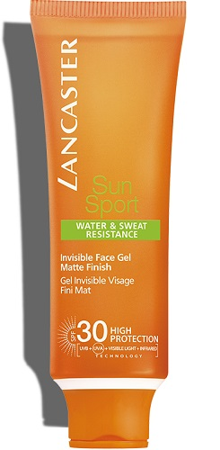 Sun Sport face invisible gel SPF30 Lancaster Solares