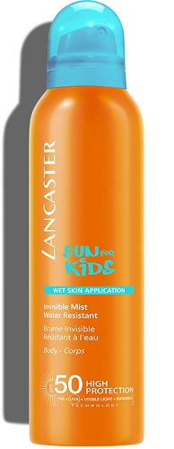 Invisible Mist Wet Skin Application SPF50 Lancaster Solares