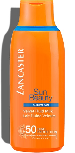 Sun Beauty Body Milk SPF50 JUMBO 400ml Lancaster Solares