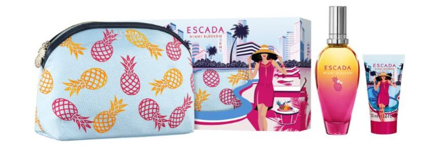 Miami Blossom Escada coffret