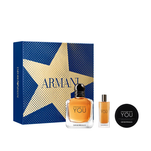 Stronger With You Giorgio Armani Coffret 100 ml