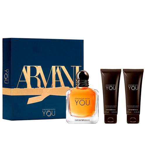 Old - Emporio Stronger With You Giorgio Armani Coffret 100ml