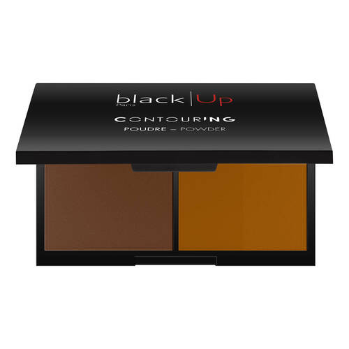 Black Up Contouring Powder  02