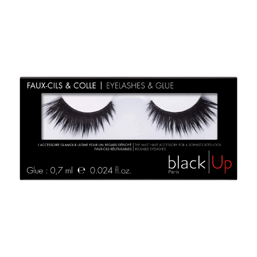 False Eyelashes ndeg05 Black Up