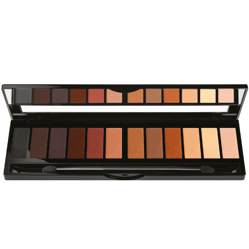 Black Up Eye Palette Brown Nude