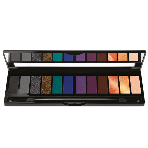 Black Up Eye Palette Black Smoky