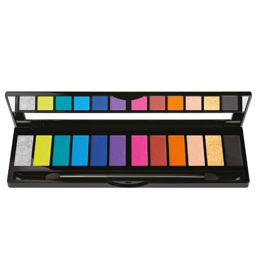 Black Up Eye Palette Flash Color