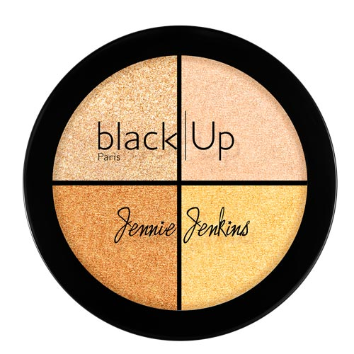 Black Up Highlighting Palette 01