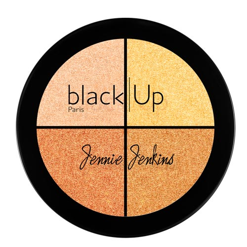 Black Up Highlighting Palette 02