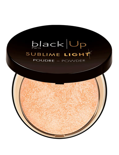 Black Up Sublime Light Compact Highlighter 02