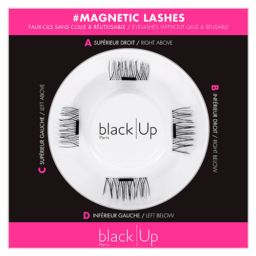 Black Up Magnetic Lashes 1