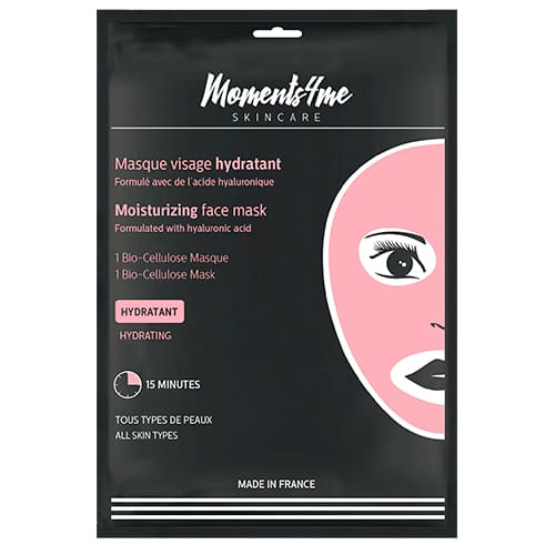 Máscaras Moments 4 Me Bio-cellulose Face Mask Moisturising 16 ml