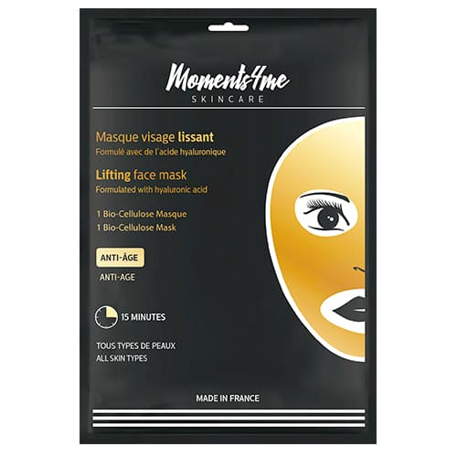 Máscaras Moments 4 Me Bio-cellulose Face Mask Lifting 16 ml