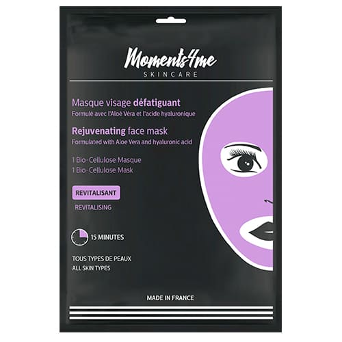 Máscaras Moments 4 Me Bio-cellulose Face Mask Rejuvenating 16 ml