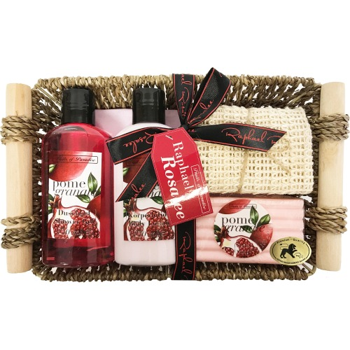 Pomegranate Raphael Rosalee AH Gift Set Fruits No.85  Gift Set SG 150ml+BL150ml +SOAP 100+TOWEL