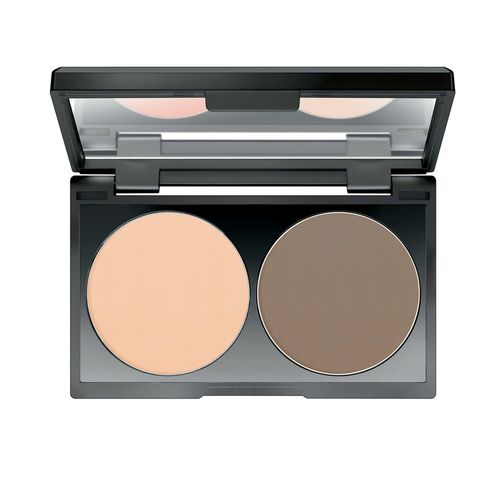 Make Up Factory Duo Contouring Powder 07 - Light Coffee