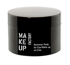 Make Up Factory  Remover Pads For Eye Make Up Oil-Free