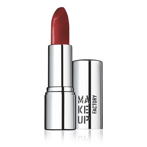 42 - Shimmer Lip Stick - Classic Carmine  Make Up Factory