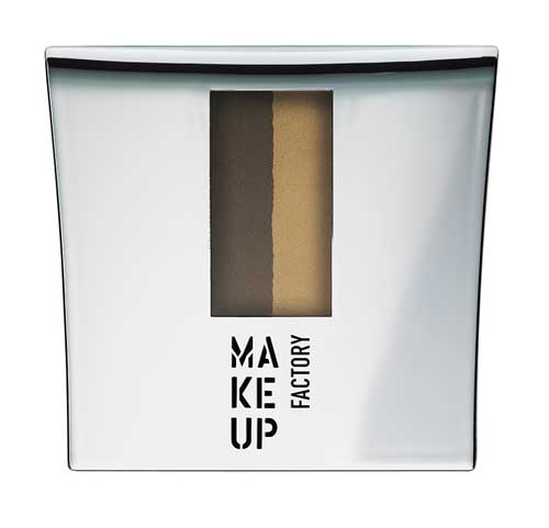 Eye Brow Powder with Stencils  Make Up Factory