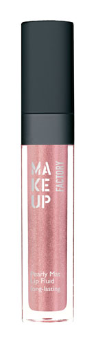 Make Up Factory Pearly Mat Lip Fluid 18-Rustic rose