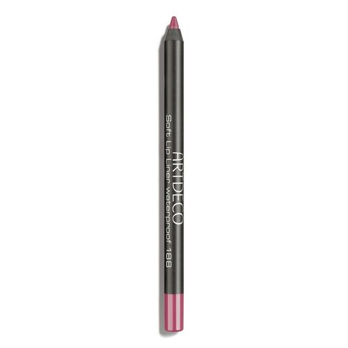 Flirt With The Mediterranean Life Artdeco Soft Lip Liner Waterproof 188-Shy rose