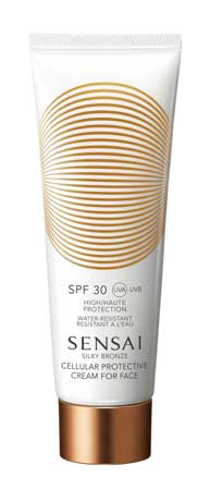 Sensai Sensai Silky Bronze Cellular Protective Cream For Face SPF30