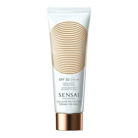Sensai Sensai Silky Bronze Cellular Protective Cream For Face SPF50