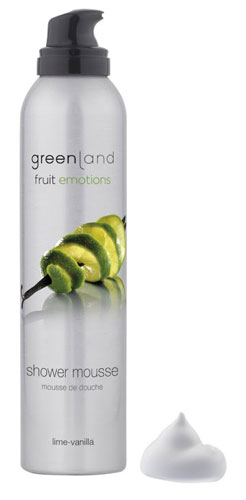 Greenland Fruit Emotions Shower Mousse Lima-Baunilha