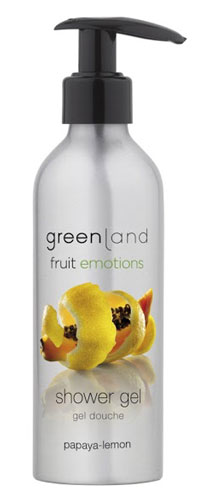 Greenland Fruit Emotions Shower Gel Papaya-Lemon