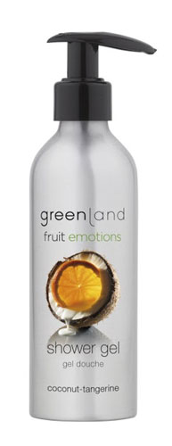Greenland Fruit Emotions Shower Gel Coconut-Tangerine