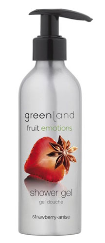 Greenland Fruit Emotions Shower Gel Strawberry-Anise