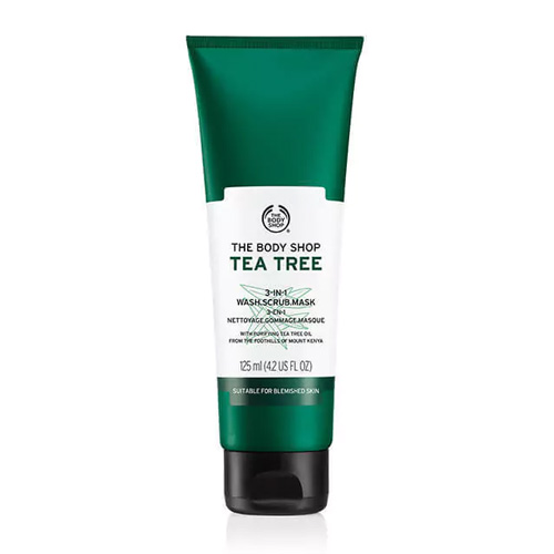 The Body Shop Tea Tree Mask Scrub 3in1