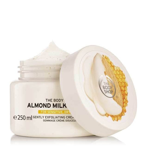 The Body Shop Almond Milk & Honey Body Scrub